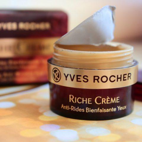Min favoritt den siste måneden: Comforting Anti-Wrinkle Eye Cream fra Yves Rocher (Riche Creme)