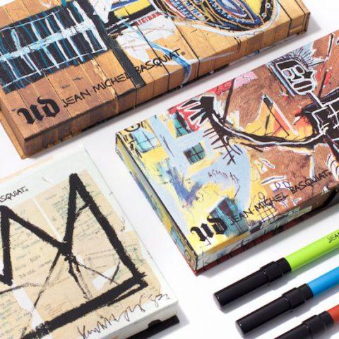 Øyenskygge på veggen! Jean Michel Basquiat – to slående Urban Decay-paletter